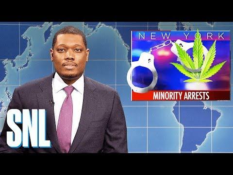 Weekend Update on Marijuana Possession Arrests - SNL
