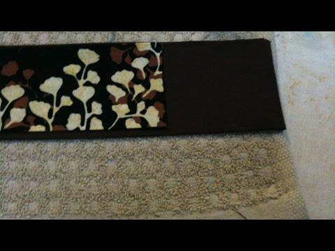 Create Beautifully Decorated Hand Towels - DIY Home - Guidecentral