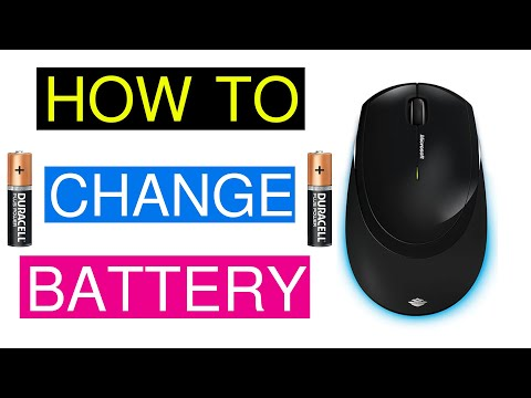 How To Change Battery In Microsoft Wireless Mouse 5000