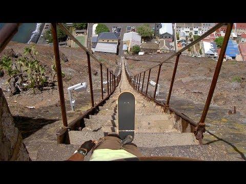 Skaters Vs Extreme Downhill Skateboarding! (Wins & Fails)