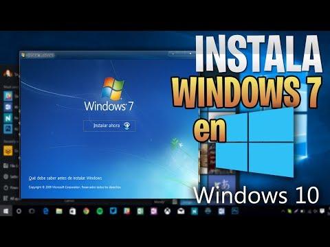 REGRESA A Windows 7 desde Windows 10 /  Sin Perder ARCHIVOS 2018