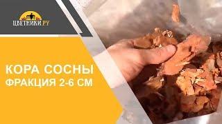 Кора сосны (средняя фракция 2-6 см)(В этом ролике Вы увидите один из самых популярных видов мульчи - сосновой коры средней фракции 2-6 см. Кора..., 2015-09-12T14:58:52.000Z)