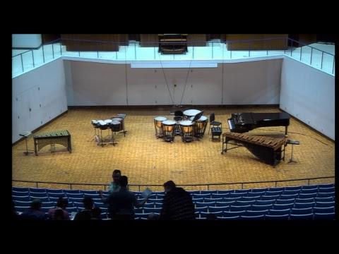 3-19-19 Greg Tsalikis DMA Percussion Recital