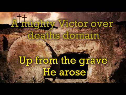 Up From the Grave He Arose  (HD)  VICTORY! Robert Lowry, Marty Parks  EASTER Lyrics Video