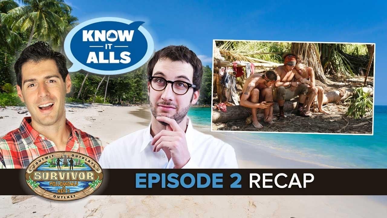 Survivor Know It Alls | Millennials vs Gen X Episode 2 Recap