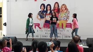 [Part 5] Make Me Ah - RANIA Promo Tour Party in Malaysia 20180630 @ Gurney Paragon Mall