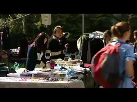 Hodgepodge of items for sale at the University market day