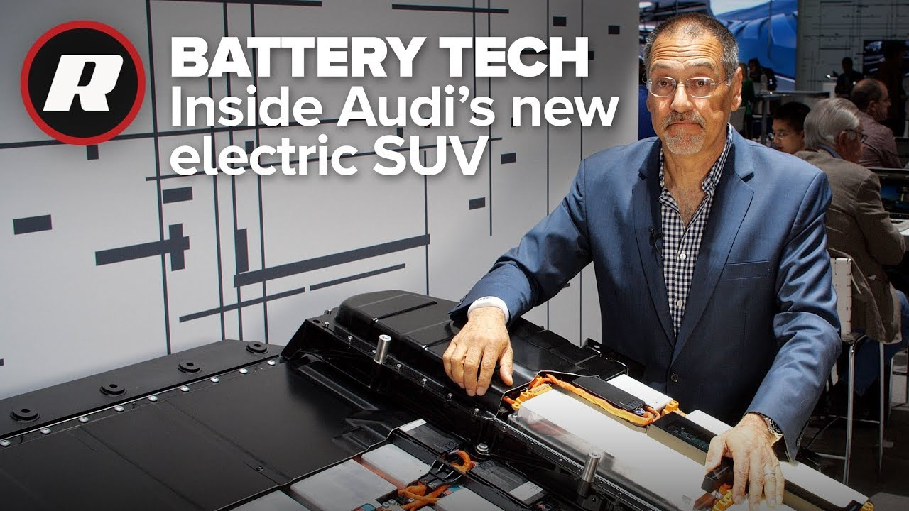 Audi's new electric SUV battery is all about cool | Audi E-Tron Quattro