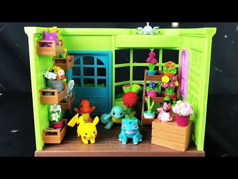 ASMR Pokemon Flower Shop Figure Set (Whispered)