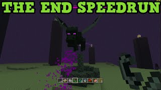 Minecraft Xbox One / PS4 SPEED RUN - Killing the Ender Dragon LIVE