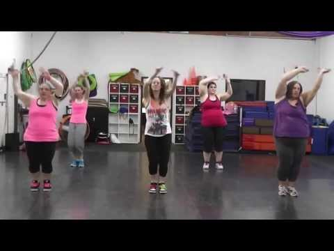 Just Fine by Mary J. Blige ----Dance Fitness/Zumba Warm up