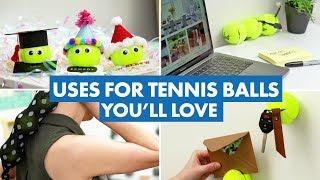 14 Uses for Old Tennis Balls You'll Love - HGTV Handmade