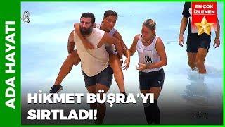 Büşra Kalçasını Sakatlıyor   Survivor 71.Bölüm