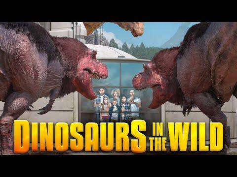 Dinosaurs in the Wild, Full Jurassic World Advenuture London's Fallen Kingdom 02 Greenwich Peninsula