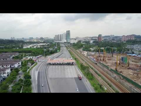 Flying at Sungai Besi Old Town & Lakefields with Mavic