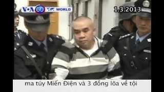 Hành quyết trùm ma túy giết 13 thủy thủ Trung Quốc (VOA60)