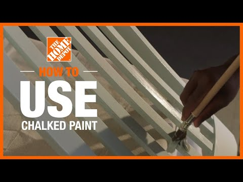 how-to-use-chalked-paint-|-diy-projects-|-the-home-depot