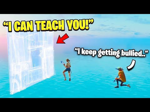I Taught A 9 Year Old That Was Getting Bullied How To Edit Fast...