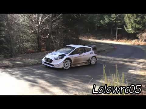 Test Elfyn Evans Monte Carlo 2018 Ford Fiesta WRC 2018