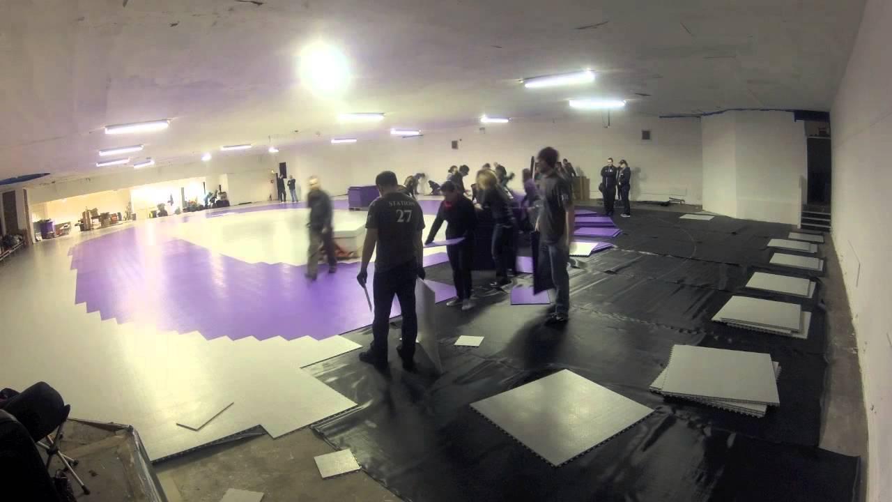 Skate Court Groundforce YouTube - Skate court flooring