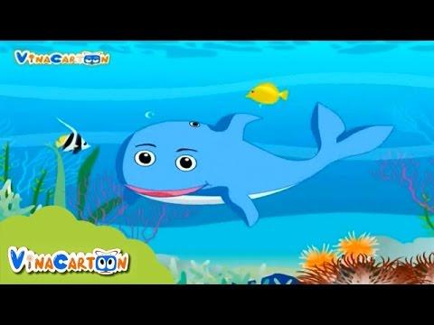 Bé Yêu Động Vật - Cá Voi Xanh