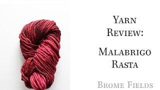 Malabrigo Rasta Yarn Review
