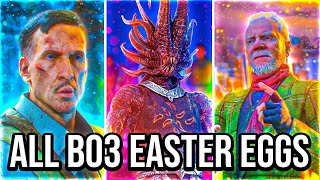 ALL BLACK OPS 3 EASTER EGGS w/ MrTLexify - CHARITY LIVESTREAM!