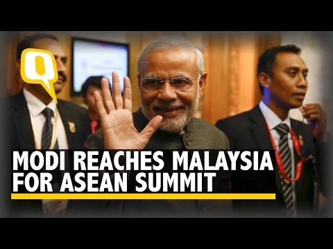 Modi Reaches Kuala Lumpur for ASEAN Summit Amid Rousing Welcome