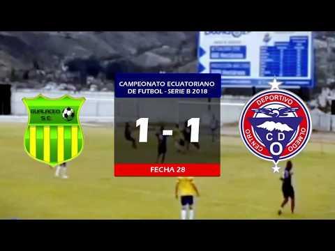 Gualaceo SC 1 - 1 CD Olmedo | Serie B 2018 ~ Fecha 28 |