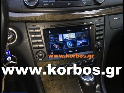 Dynavin N7-mbe with Tv Tuner for Mercedes E and Cls Class www korbos gr