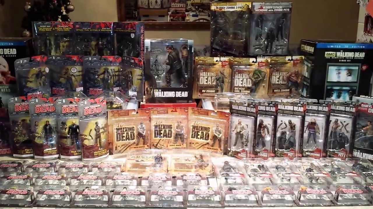The Walking Dead Complete Action Figure Collection 2011 2013 Hd Youtube