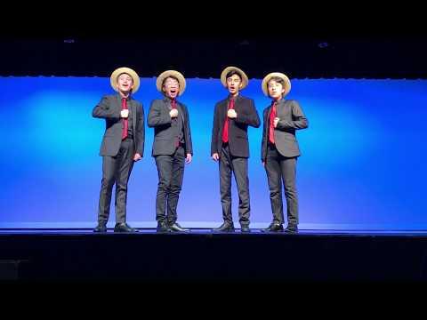 Moreau Catholic High School (MCHS) Talent Show Performance: Hello My Baby Barbershop Quartet