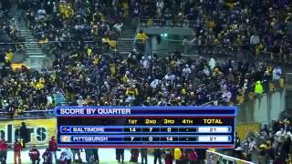 Ravens vs Steelers 2010 AFC Playoffs 2nd Half