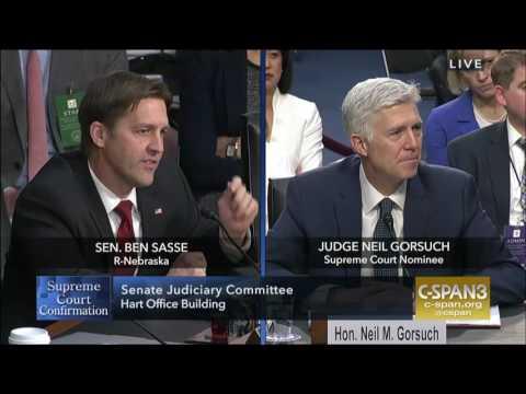 Ben Sasse: Round 3 Questions in Gorsuch Hearing