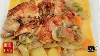 Home Cusine - Заек със зеленчуци на фурна