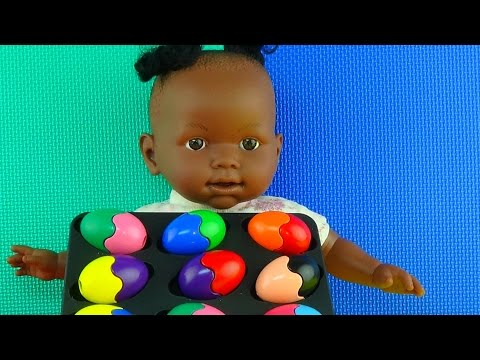 Кормим куклу,меняем памперс,рисуем,Бабушкины сказки,Feeding Doll, changing diapers, paint,