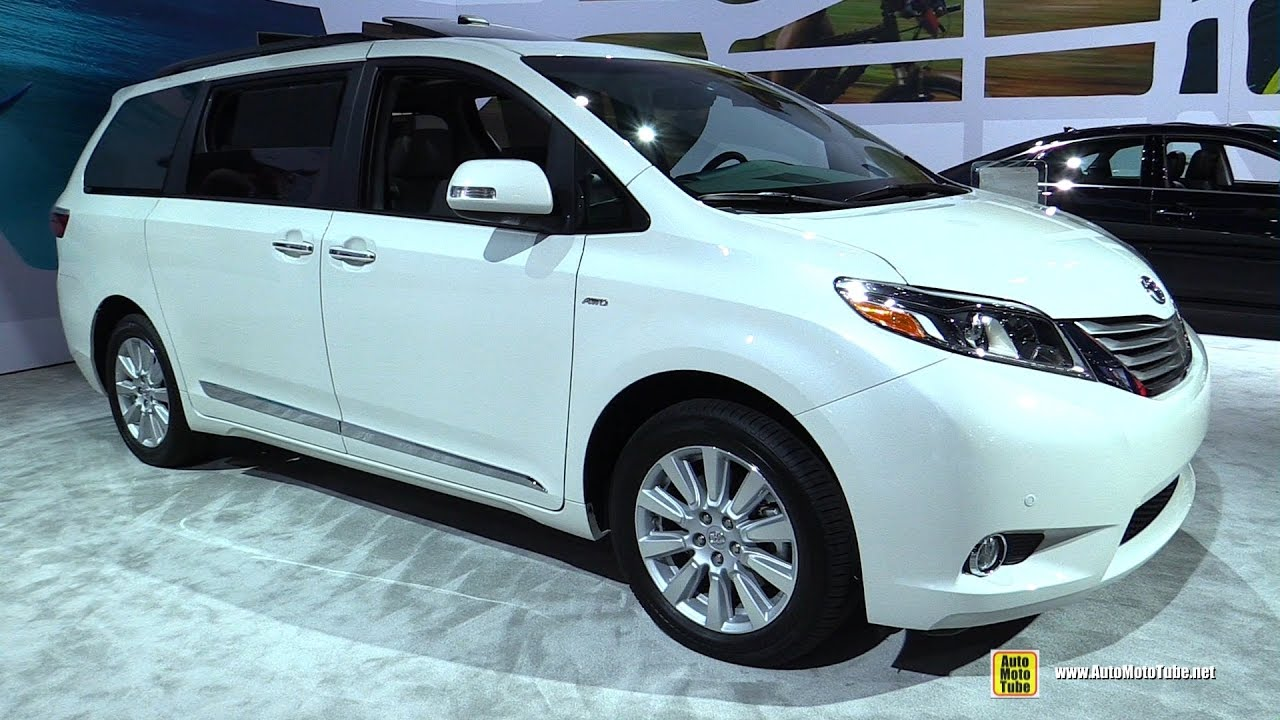 2017 toyota sienna limited premium exterior and interior walkaround 2016 la auto show youtube. Black Bedroom Furniture Sets. Home Design Ideas