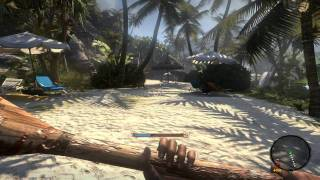 Dead Island how to find a gun on lvl 1 Mission 1
