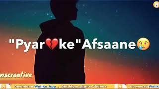 Pyar Ke afsane Sune the logo se pyar kya  hota hai Yeh Tu Ne Samjya Mila Dil Tujhse to khwab dekhe