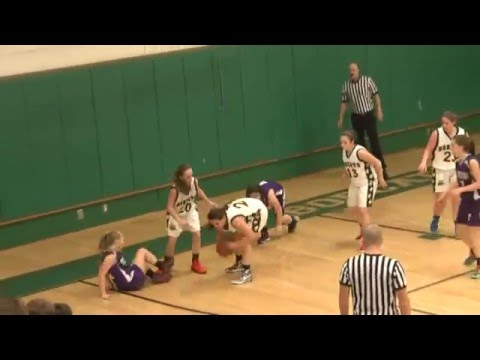 NAC - Ticonderoga JV Girls  1-6-16