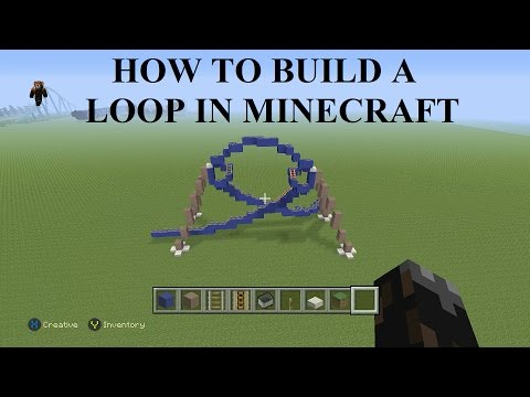 How To Make Coaster Elements (Loop-da-Loop): Minecraft