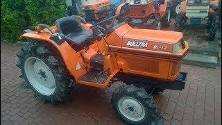 Kubota Bulltra ZB1-17 traktorek ogrodowy.