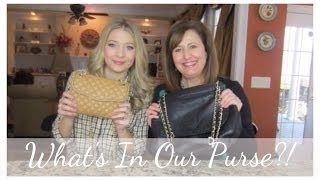 What's in our purse?! Ft. My Mom! Thumbnail