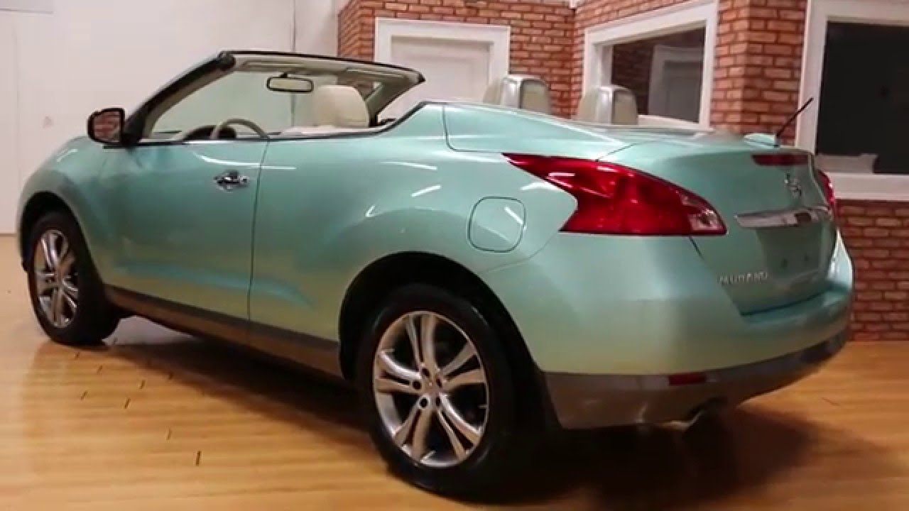 2011 Nissan Murano CrossCabriolet For Sale~RARE Caribbean Pearl~Low  Miles~VERY RARE!