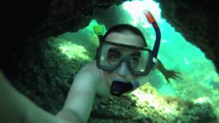 Snorkeling on the island of ustica