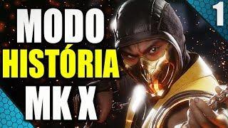 🔴 MORTAL KOMBAT X - MODO HISTÓRIA - ESQUENTA MK11