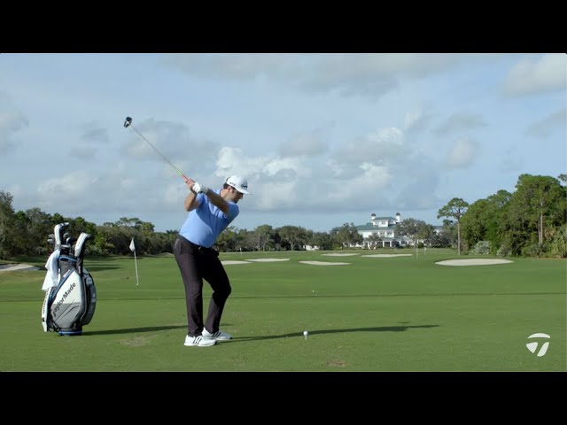 Jon Rahm How to Hit a Draw & Fade With SIM Driver | TaylorMade Golf