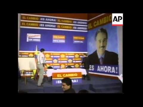 COLOMBIA: SERPA & PASTRANA CONTINUE ELECTION CAMPAIGNS