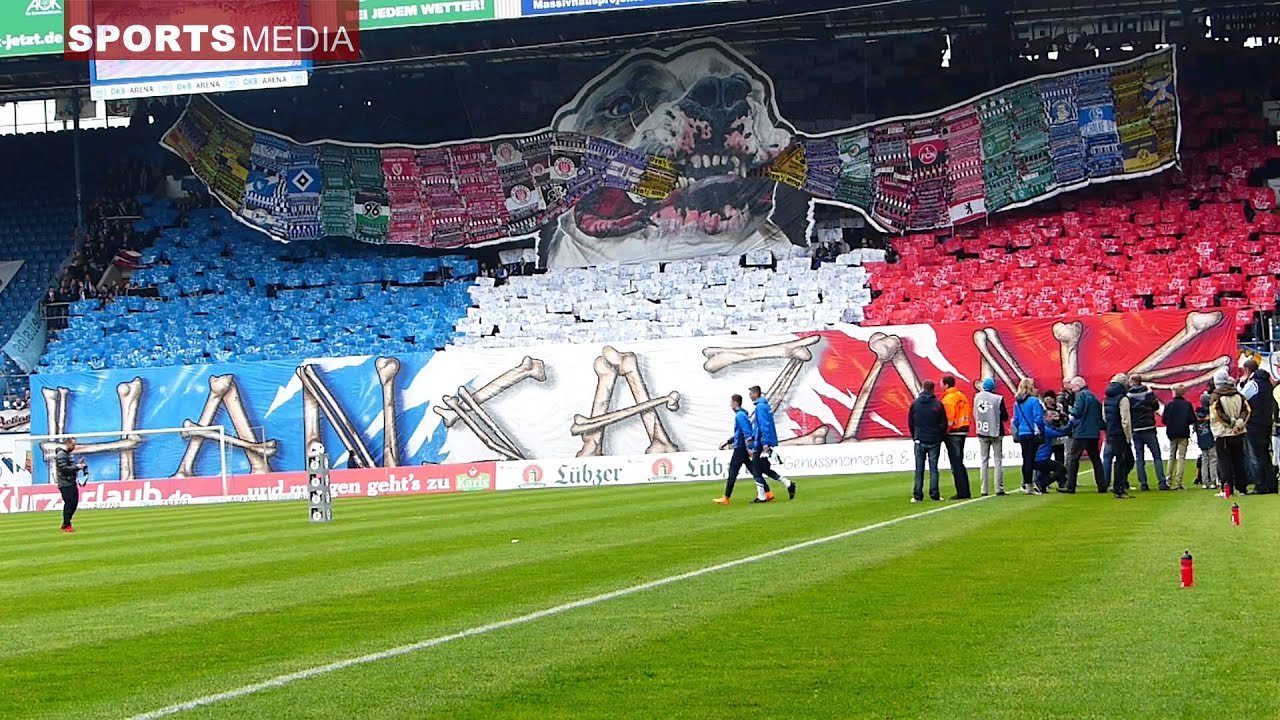 16.5.15 FC Hansa Rostock - FC Energie Cottbus , CHOREO ...