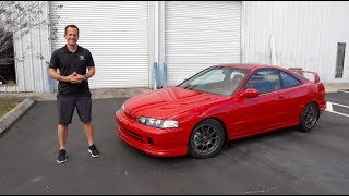Is this 2001 Acura Integra GS-R a BETTER  performer than a 2020 Honda Civic Type R?